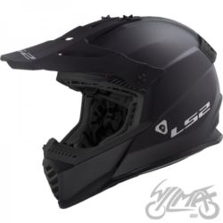KASK LS2 MX437 FAST EVO MATT BLACK XL